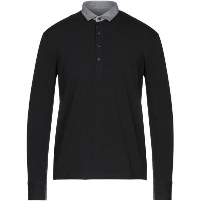 ガウディ GAUDÌ ポロシャツ ブラック S コットン 94% / ポリウレタン 6% ポロシャツ