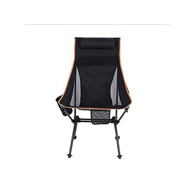 LXXYJ Aluminum Alloy Folding Camping Chair Lightweight High Back Lawn Chair