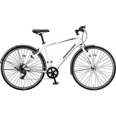 【防犯登録サービス中】送料無料 ブリヂストン 自転車 TB1 TB420 P.Xスノ-ホワイト
