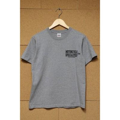 IRON HEART アイアンハート 7.5ozプリントTシャツ S GRY 丸胴 IHT-1904