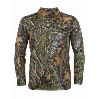 ファッション アウター ScentBlocker Snap Long Sleeve Shirt Shield Series Angatec Odor Control Moi...