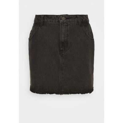 アフェンズ スカート レディース ボトムス DENNY - Mini skirt - stone black