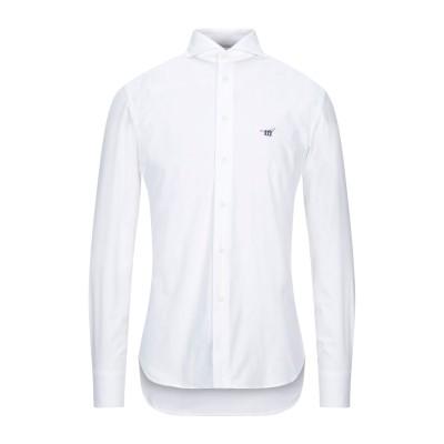 ヘンリー コットンズ HENRY COTTON'S シャツ ホワイト 39 コットン 97% / ポリウレタン 3% シャツ