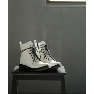 SOROTTO / タンクソールの8ホールレースアップブーツ WOMEN シューズ > ブーツ