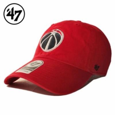 47ブランド ストラップバックキャップ 帽子 メンズ レディース 47BRAND NBA ワシントン ウィザーズ フリーサイズ [ rd ]