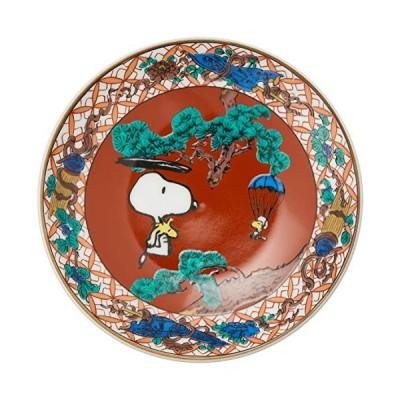 「 PEANUTS(ピーナッツ) 」 スヌーピー 九谷焼 豆皿 赤絵柄 SN362-333