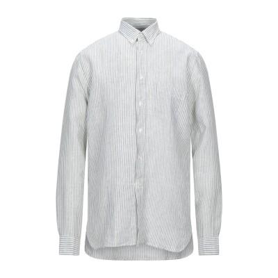 XACUS シャツ ライトグリーン L リネン 100% シャツ