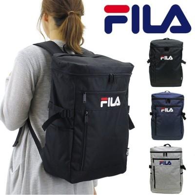 送料無料 FILA(フィラ) ラウンド スクエアリュック デイパック バックパック リュックサック B4 7メンズ レディース 7555