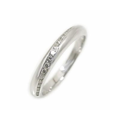 K10ホワイトゴールド/イエローゴールド/ピンクゴールド リング 指輪 シンプル ピンキー 重ね着け ダイヤモンド 細め 結婚指輪 マリッジ 天然石 誕生石【国産】