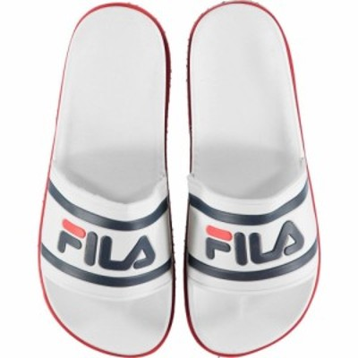 フィラ Fila レディース サンダル・ミュール シューズ・靴 Zepha Slides White/Navy/Red