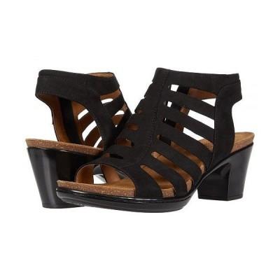 Comfortiva コンフォーティヴァ レディース 女性用 シューズ 靴 ヒール Viona - Black Otago Nubuck