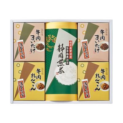 <浅草今半> 牛肉佃煮・静岡煎茶詰合せ【三越伊勢丹/公式】