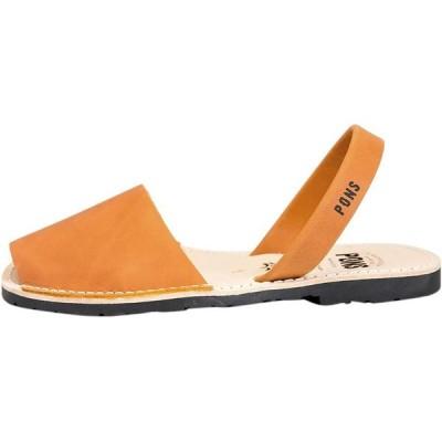 (取寄)アヴァルカ ポンズ レディース クラシック サンダル Pons Avarcas Women Classic Sandal Orange