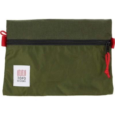 トポ デザイン Topo Designs レディース ポーチ Medium Accessory Bags Olive/Olive