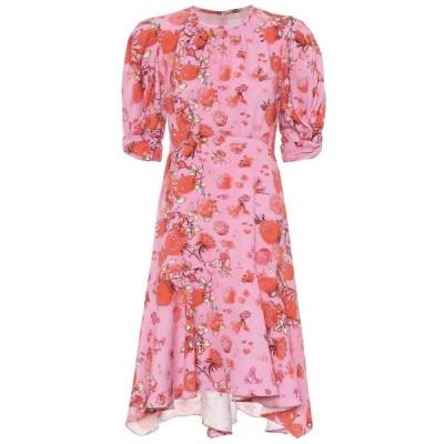 ピーター ピロット Peter Pilotto レディース ワンピース ワンピース・ドレス Asymmetric floral minidress Peony Pink