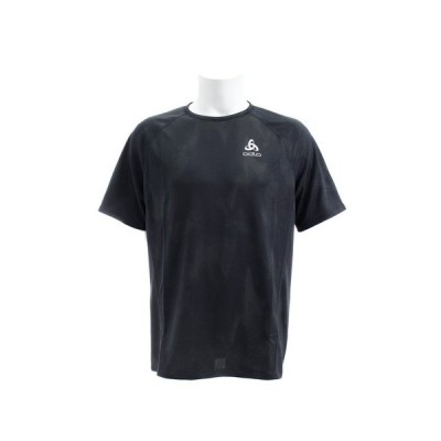 オドロ(ODLO) Tシャツ メンズ クルーネック 半袖Tシャツ 350102climbingivy-black オンライン価格 (メンズ)