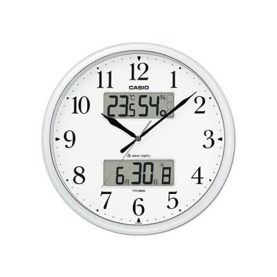 電波掛時計 生活環境お知らせクロック カシオ計算機 ITM-660NJ-8JF