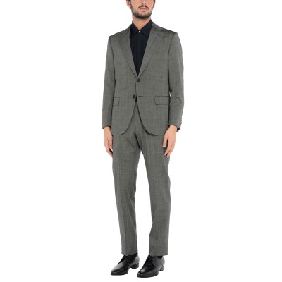 カルーゾ CARUSO スーツ グレー 52 ウール 98% / ポリウレタン 2% スーツ