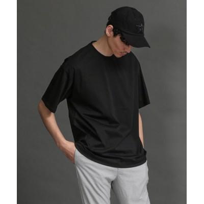 (LOVELESS MENS/ラブレス メンズ)【LOVELESS】MEN はっ水コットンビッグTシャツ/メンズ ブラック