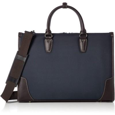 [ギャッツビー] ビジネスバッグ A4対応 ポリエステル 撥水加工 ネイビー