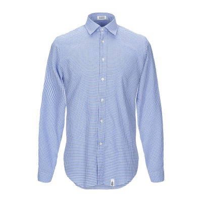 SINK OR SWIM シャツ ブルー M コットン 100% シャツ