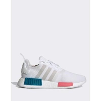 アディダス レディース スニーカー シューズ adidas Originals NMD sneakers in white White