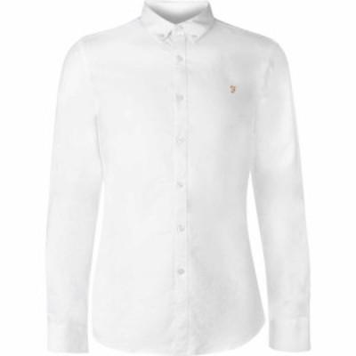 ファーラーヴィンテージ Farah Vintage メンズ シャツ トップス Oxford Long Sleeve Shirt White