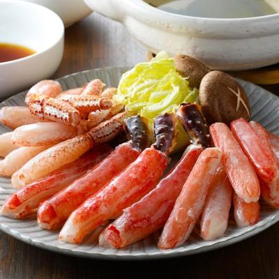 【お歳暮】かにしゃぶ3種食べ比べ BKS-100N4 WEB限定お取り寄せ冬ギフト