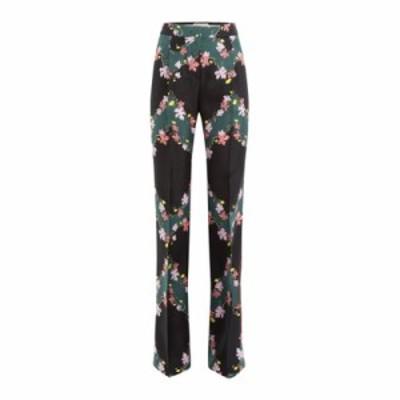 エミリオ プッチ その他ボトムス・パンツ Printed Silk Wide Leg Pants multicolored