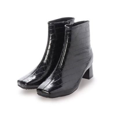 EVOL / 21AW新色!安定感ある履き心地【EVOL】スクエアショートブーツ IN9080 WOMEN シューズ > ブーツ
