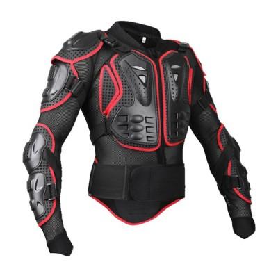 全身ジャケット鎧装甲騎乗モトクロススポーツジャケットl