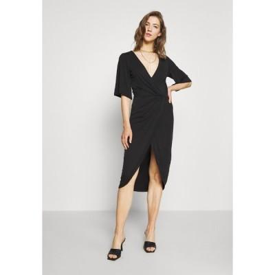 オブジェクト ワンピース レディース トップス OBJNADINE DRESS - Shift dress - black