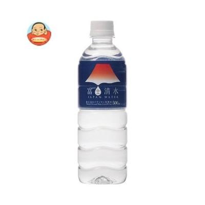 ミツウロコ 富士清水 JAPAN WATER 500mlペットボトル×24本入