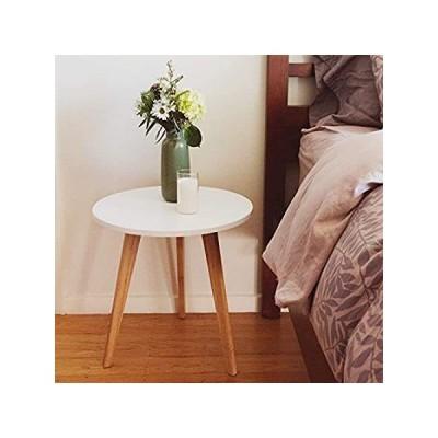 【イチオシ厳選】STNDRD. Bamboo End Table - Mid-Century Modern. Bedside Nightstand or Living