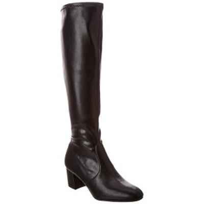 スチュアート ワイツマン レディース ブーツ&レインブーツ シューズ Stuart Weitzman Frannie 60 Leather Boot black leather