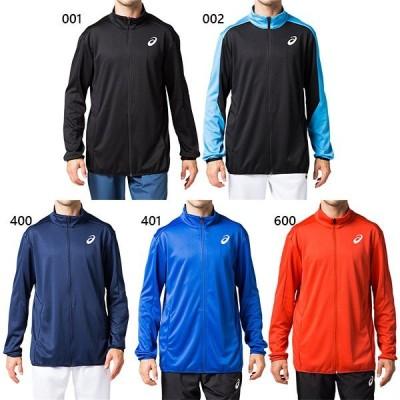 アシックス メンズ トレーニングジャケット ジャージ トップス 長袖 上着 トレーニング スポーツウェア 2091A176