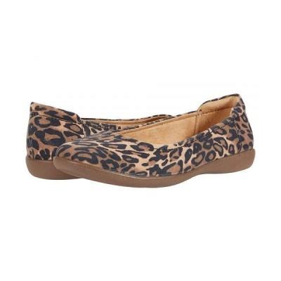 Naturalizer ナチュラライザー レディース 女性用 シューズ 靴 フラット Flexy - Brown Cheetah