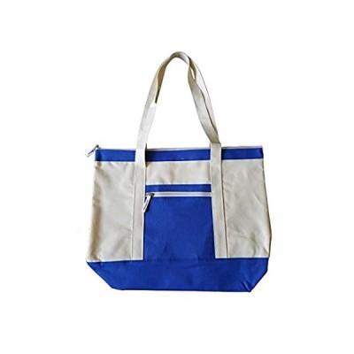 ImpecGear Deluxel Travel Totes Luggage Beach Bag, Heavy Duty Zippered Shopp