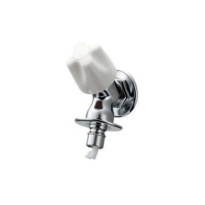 カクダイ:洗濯機用水栓(ストッパー、送り座つき) 型式:721-521-13