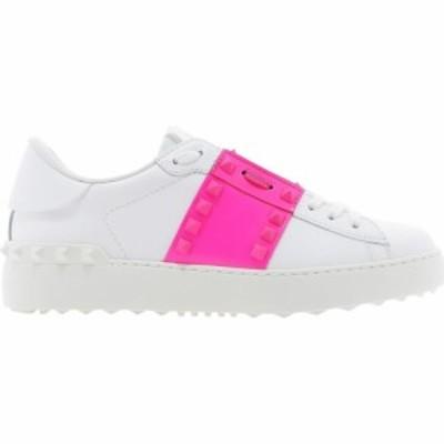 ヴァレンティノ Valentino Garavani レディース スニーカー シューズ・靴 Rockstad Untitled Fluo Sneakers White