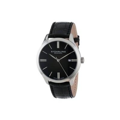 ストゥーリングオリジナル 腕時計 Stuhrling Original 490 33151 メンズ クラシック Cuvette II スイス クォーツ Date 腕時計