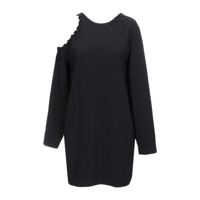 イロ IRO ミニワンピース&ドレス ブラック 34 ポリエステル 100% ミニワンピース&ドレス