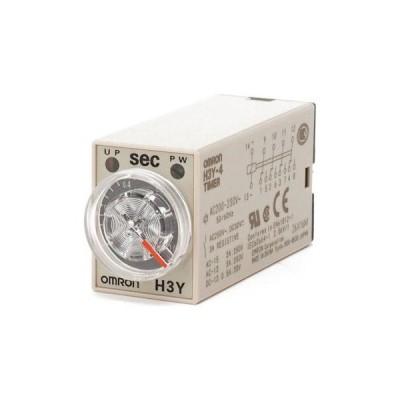 ソリッドステート・タイマ H3Y-4(AC電源) オムロン(omron) H3Y-4 AC200-230 1S H3Y 6124R