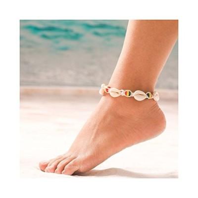 Aukmla Shell Anklet Foot Chain Fashion Ankle Bracelet Barefoot Sandal
