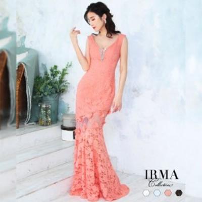 IRMA ドレス イルマ キャバドレス ナイトドレス ロングドレス 全4色 9号 M 95591 クラブ スナック キャバクラ パーティードレス