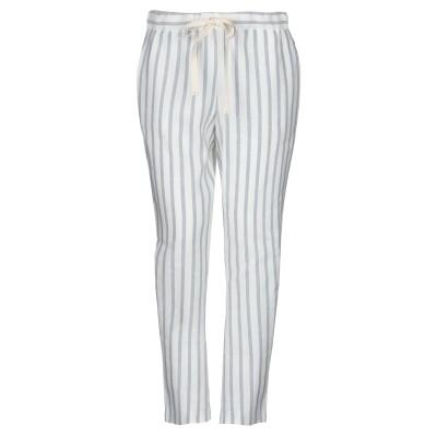 セミクチュール SEMICOUTURE パンツ グレー 38 レーヨン 50% / 麻 50% パンツ