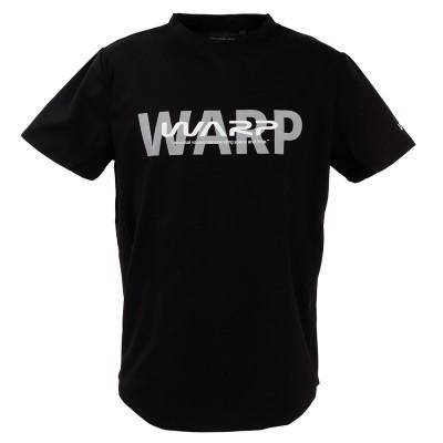 The Warp By EnnerreウェアWARP サイドメッシュTシャツ WB33JA18 BLK 半袖ブラック