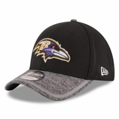 New Era ニュー エラ スポーツ用品  New Era Baltimore Ravens Youth Black Training Camp 39THIRTY Flex Hat