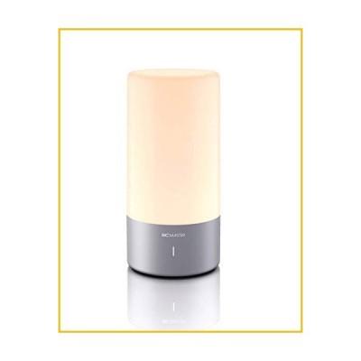 【☆送料無料☆新品・未使用品☆】Table Lamp BC Master Sensor Control Touch Lamp Bedside Lamp Dimmable Warm White Light, Vibra