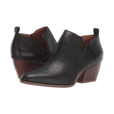 Franco Sarto フランコサルト レディース 女性用 シューズ 靴 ブーツ アンクル ショートブーツ Dingo 2 - Black Leather